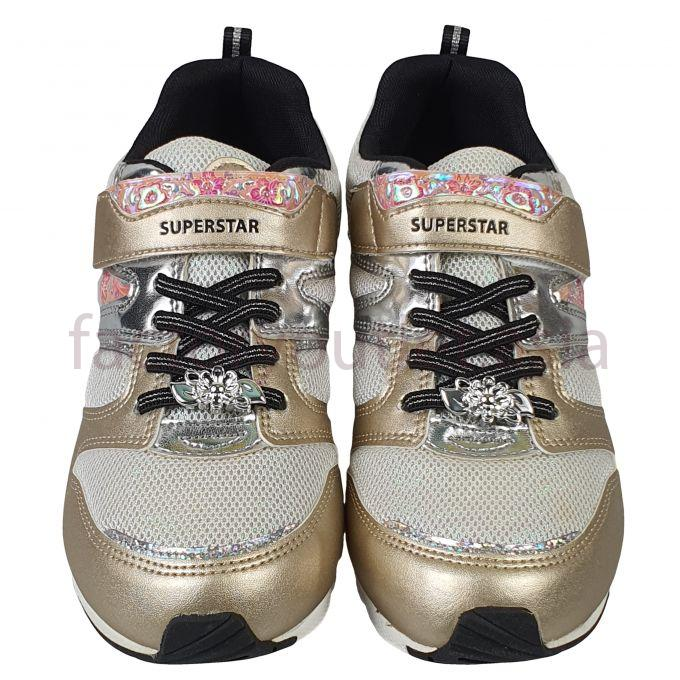 Moonstar C.TY junior shoes - HAN SS J687 Gold 1