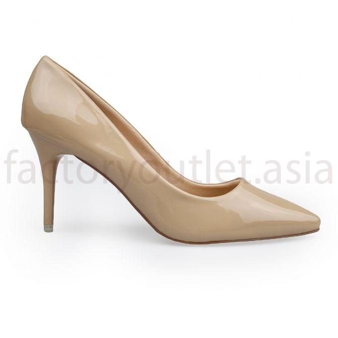 Kirei  polished pumps 7cm  FX68 - PB Nude 1