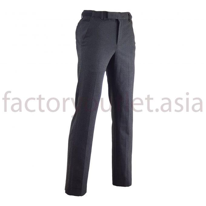 XH WIDE FIT men's trousers - VI Black-grey 1