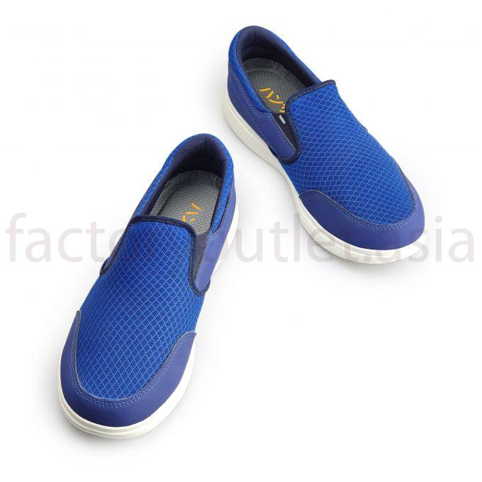Hansamu loafers - TBD mesh Blue 1