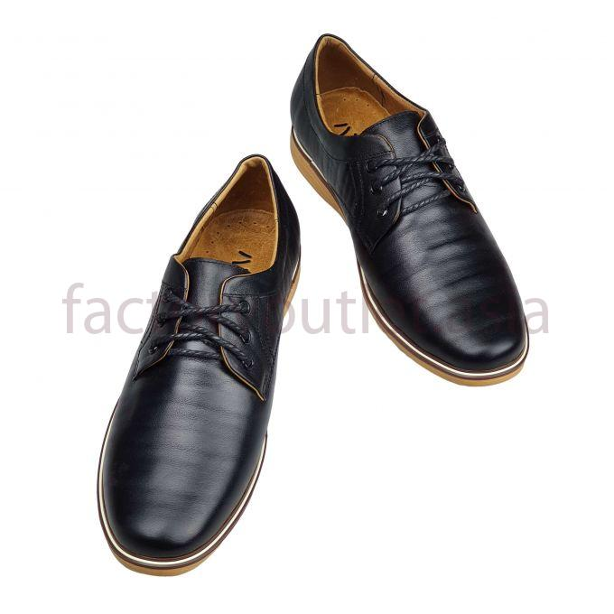 Hansamu leather derby - AL nappa Black 1