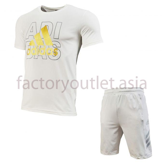Set Adidas Short - LO White 1
