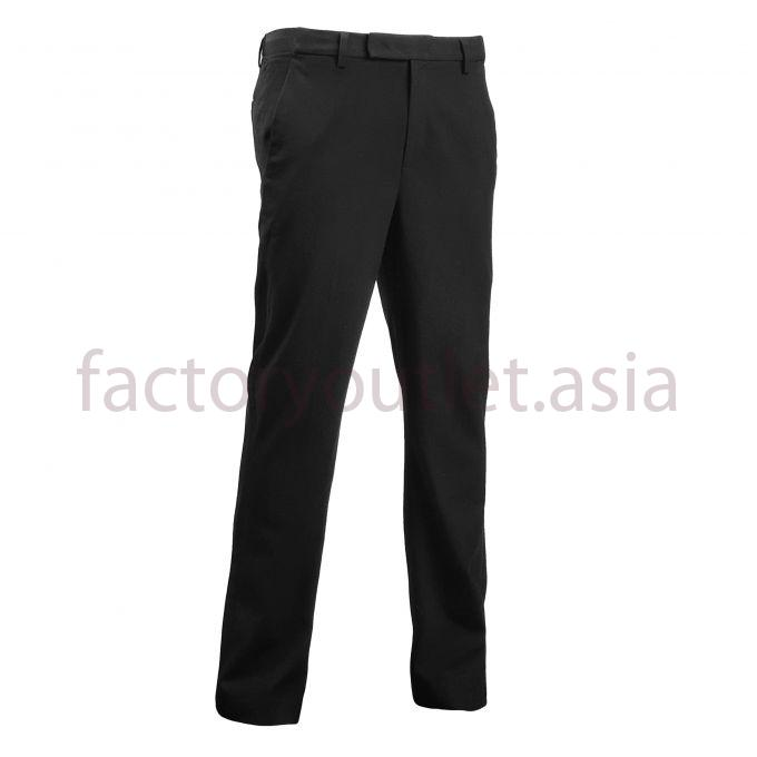 XH WIDE FIT men's trousers - VI Black 1