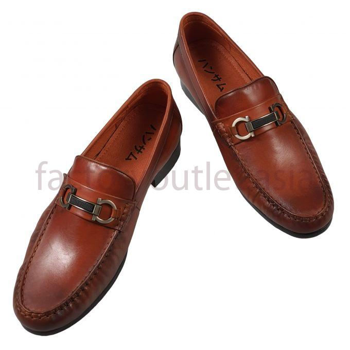 Hansamu penny loafers - NK 8784 Brown 1