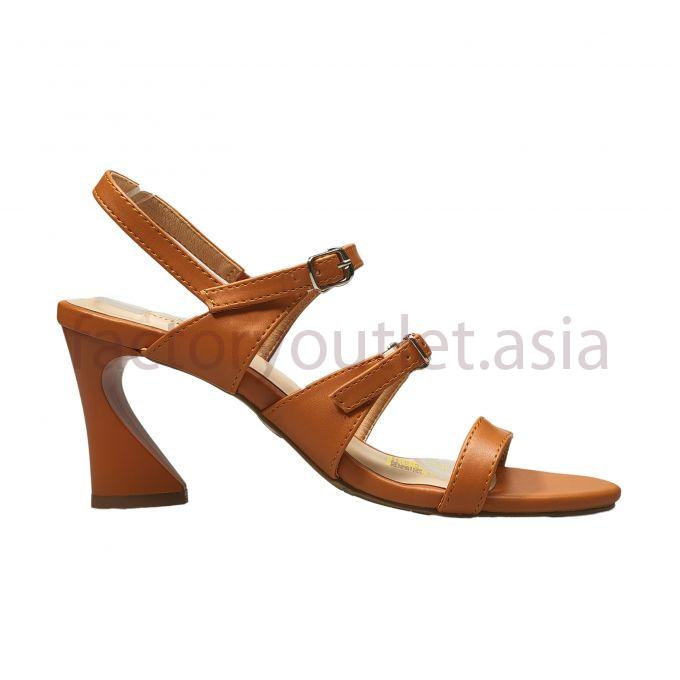 Sandal Kirei highheel 7p - PB Light Brown 1