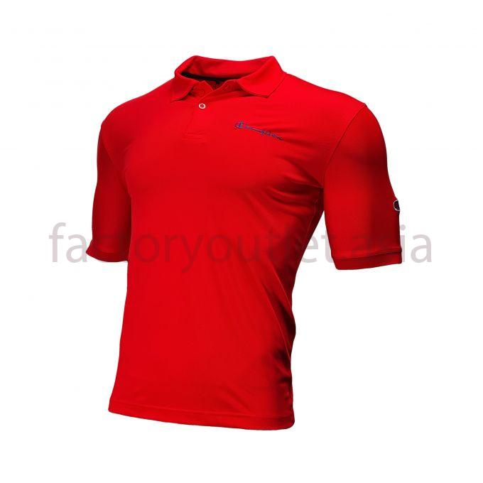 Champion T-shirt - Polo logo ATNG115 Red 1