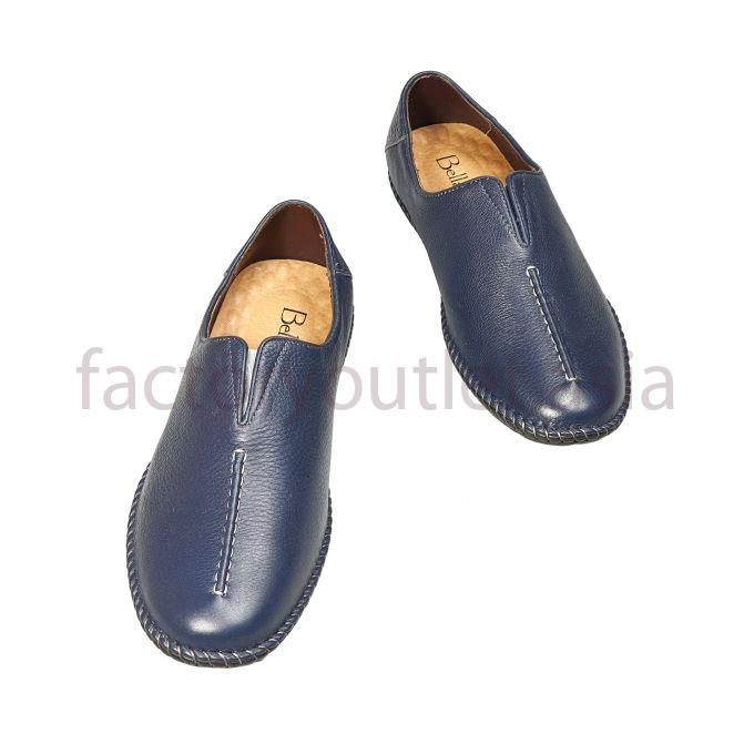 Bellanita leather loafers  - BL Navy 1