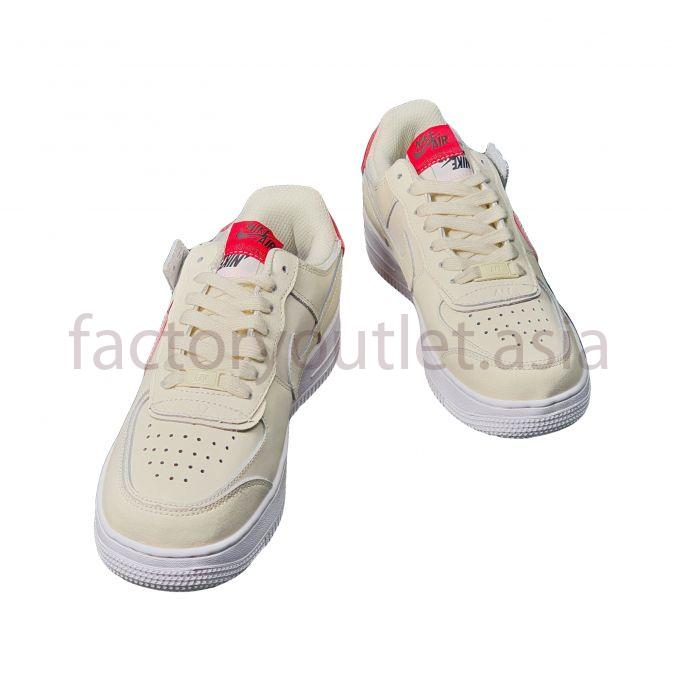 Giày Thể Thao Nike - Air Force 1 Shadow TTNG47 Kem 1