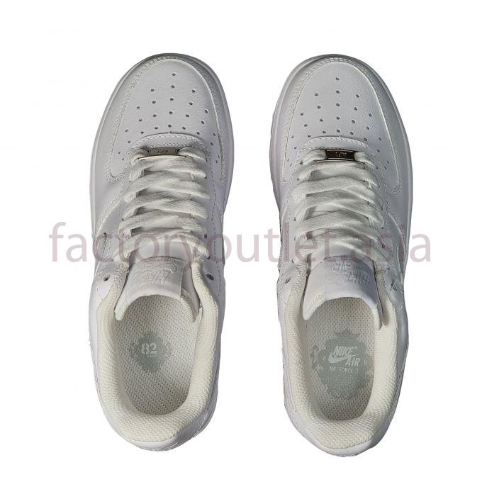 Giày Thể Thao Nike - Air Force 1 TTNG09 Trắng full 1