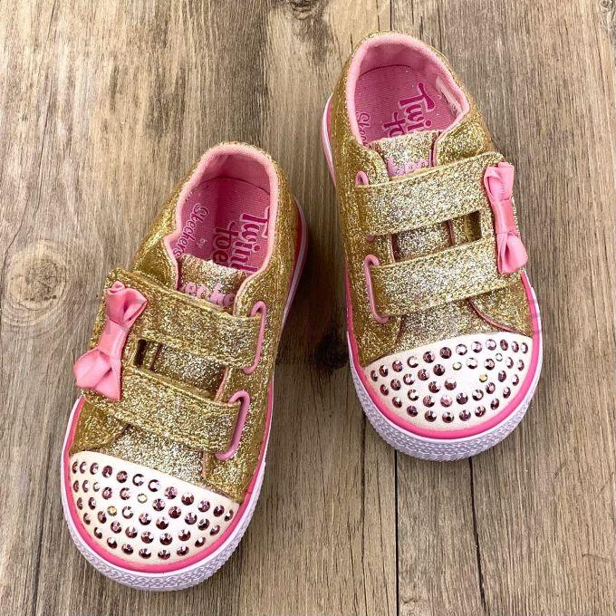 Twinkle Toes Kids Shoes GTT00010 - Gold 1