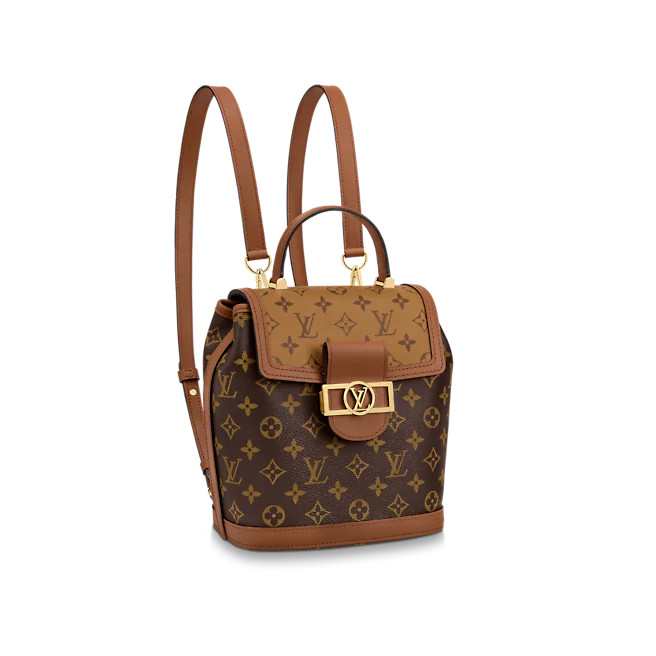 Balo - Louis Vuitton Dauphine PM DS Nâu 1